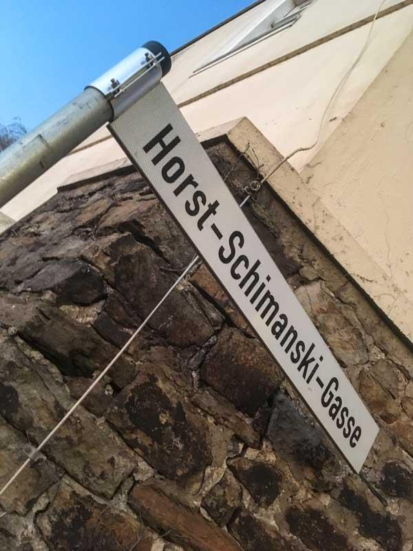 Natürlich wurde in diesem Stadtteil eine Straße nach dem Tatort-Kommissar Schimanski benannt