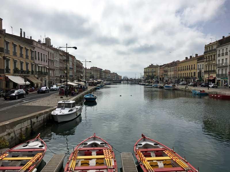 Der Blick erinnert ein bisschen an Venedig