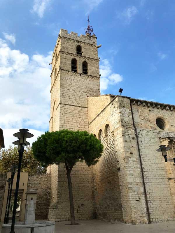 Die alte Wehrkirche Saint Paul in Frontignan