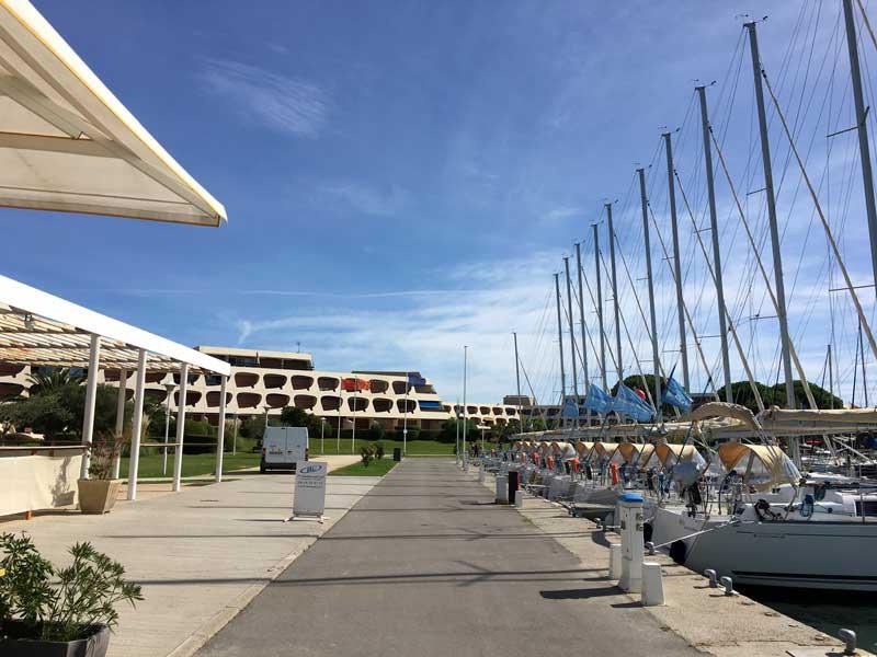 Es gibt spannendere Häfen als den Port Camargue