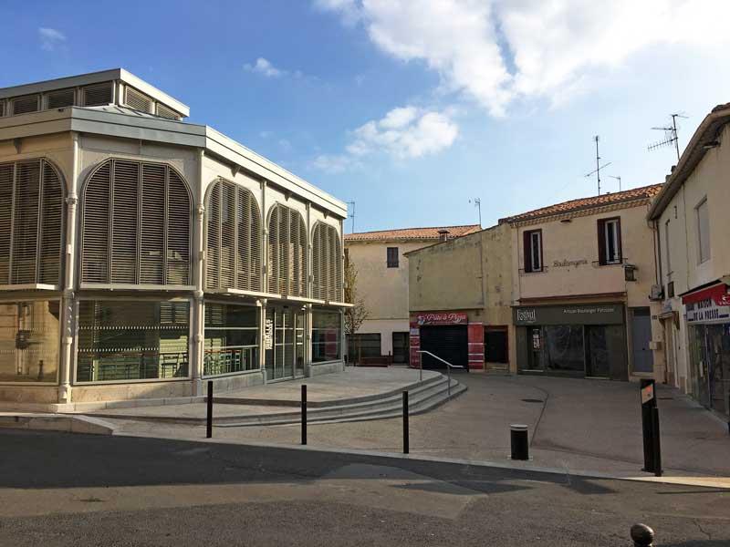 Auch Frontignan verfügt über eine Markthalle