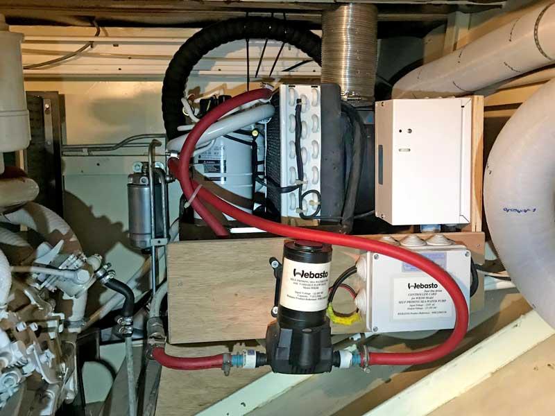 Klimaanlage Webasto Blue Cool Classic, eine Kompakt-Klimaanlage