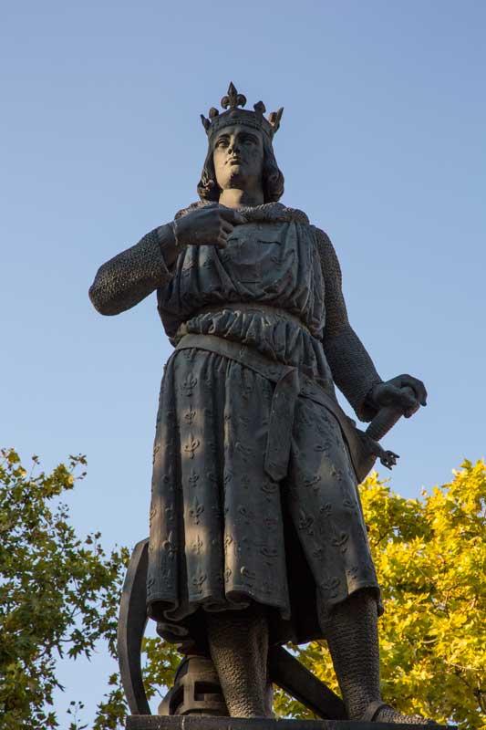 St. Louis, der heilige Ludwig, gründete Aigues-Mortes im 13. Jahrhundert