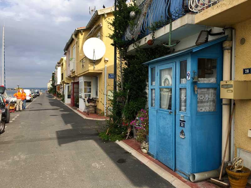 Auch wenn das Viertel Pointe Courte als touristische Attraktion gilt, wirkt es doch sehr authentisch