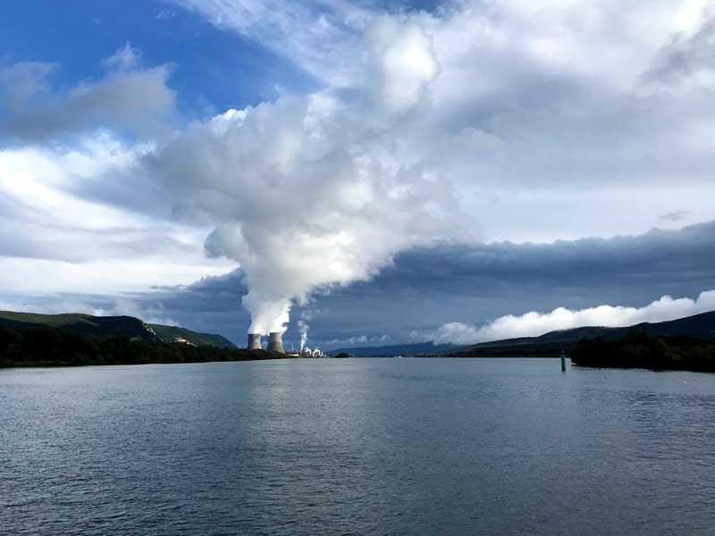 Atomkraftwerk Cruas bei Meysse