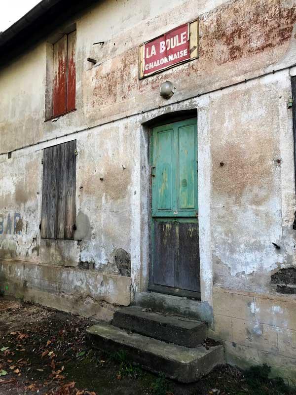 Altes Gebäude in Chalon-sur-Saône