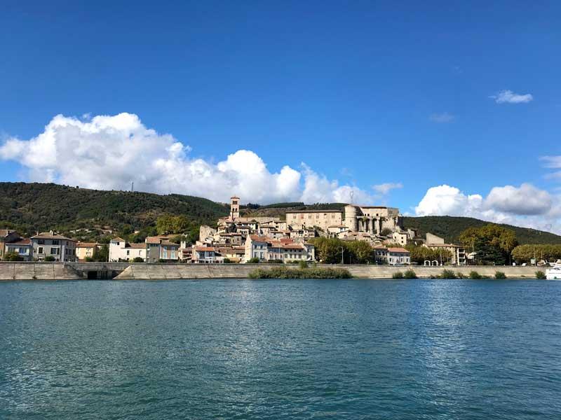 La Voulte am Ufer der Rhône