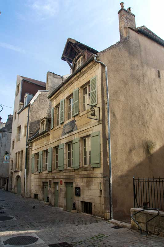 La Maison Pasteuer, hier kam Louis Pasteur auf die Welt