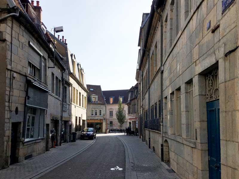 Altstadtgasse Rue du Lycée in Besançon