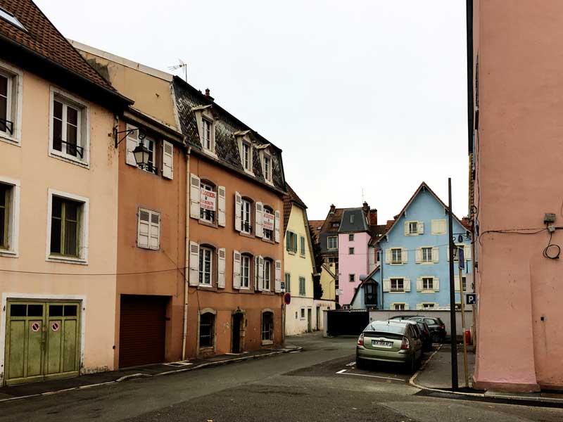 Ein Teil der Bausubstanz von Montbéliard ist gut erhalten