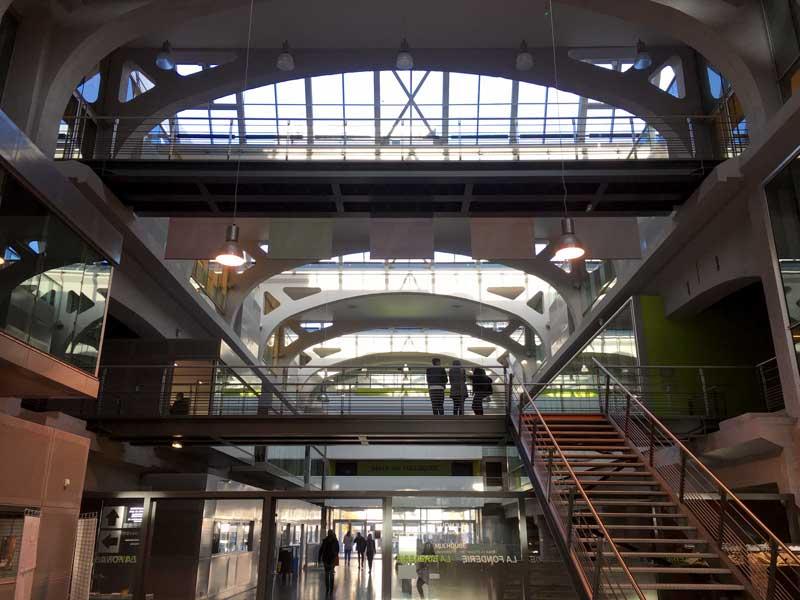 Die alte Gießerei von Mülhausen wurde zur Universität umgebaut