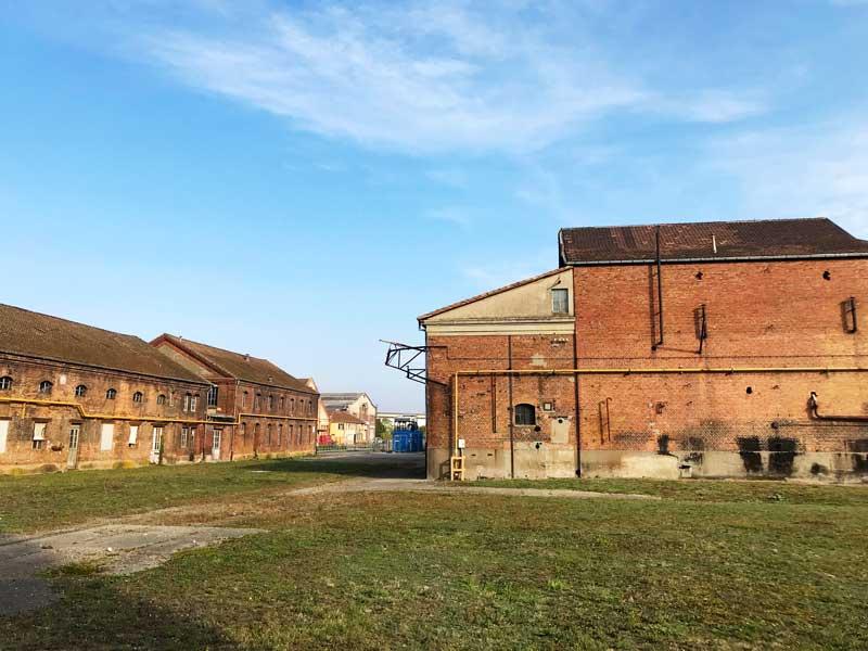 Viele Gebäude auf dem Areal der Fonderie in Mulhouse werden noch heute genutzt