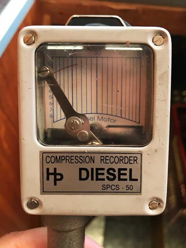 Im Compression Recorder befindet sich ein Datenblatt