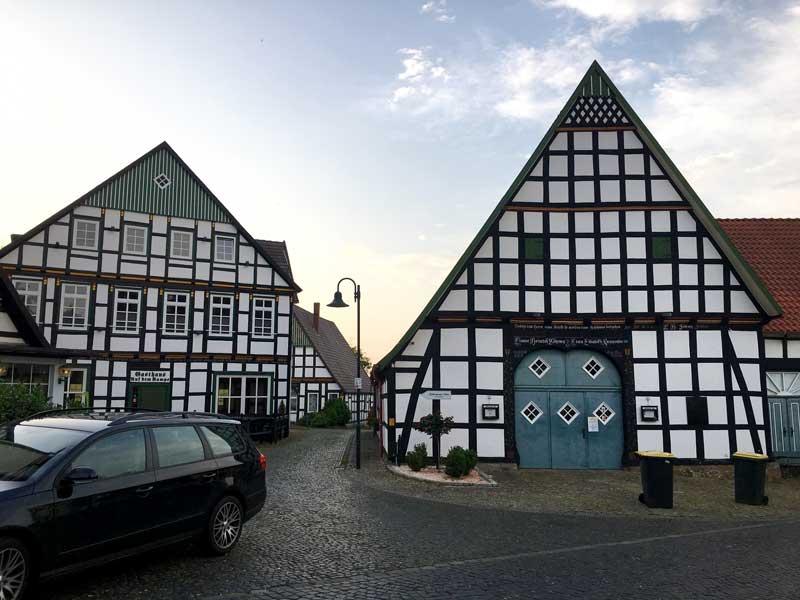 Weitere große Fachwerkhäuser in Bad Essen