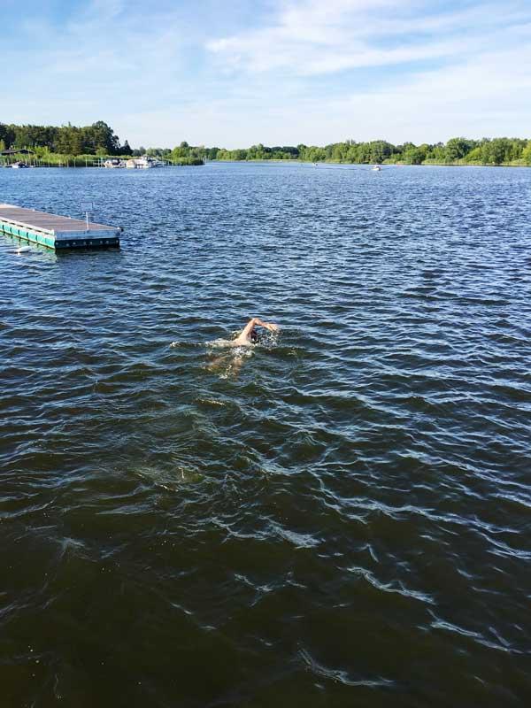 Thomas krault über den Plauer See