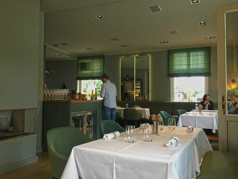 Gastraum des Restaurants Alte Überfahrt in Werder Havel