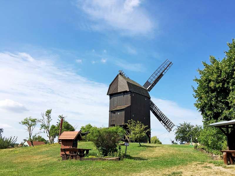 Alte Windmühle Bockwindmühle in Werder Havel