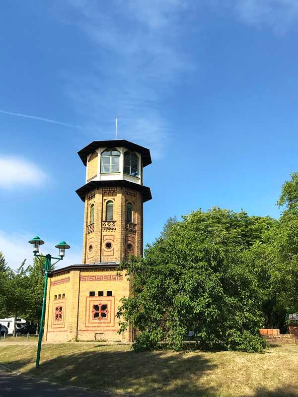 Das Ziegeleimuseum Glindow bei Werder Havel befindet sich in einem sehr hübschen Ziegelrundbau mit Türmchen